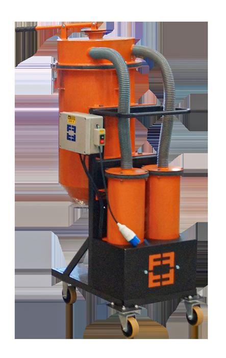 aspirador de pó industrial da finiti para o polimento de piso a seco