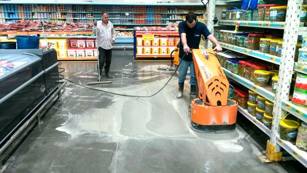 politriz de piso turbo