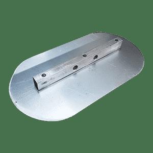 lâmina de acabamento de aço para urepoxi