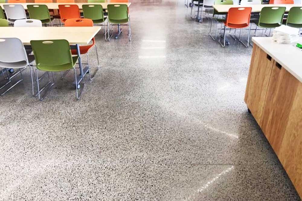polimento e lapidação de pisos